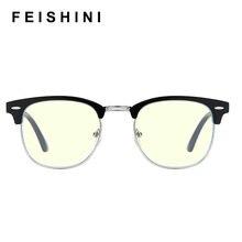 Feishini анти синий светильник блокирующий очки фильтр уменьшает