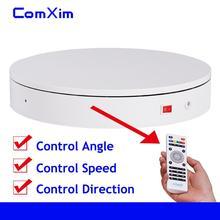 32 Cm Afstandsbediening Snelheid Richting 360 Graden Rotatie Elektrische Draaitafel 3D Scannen Fotografie Display Stand Comxim