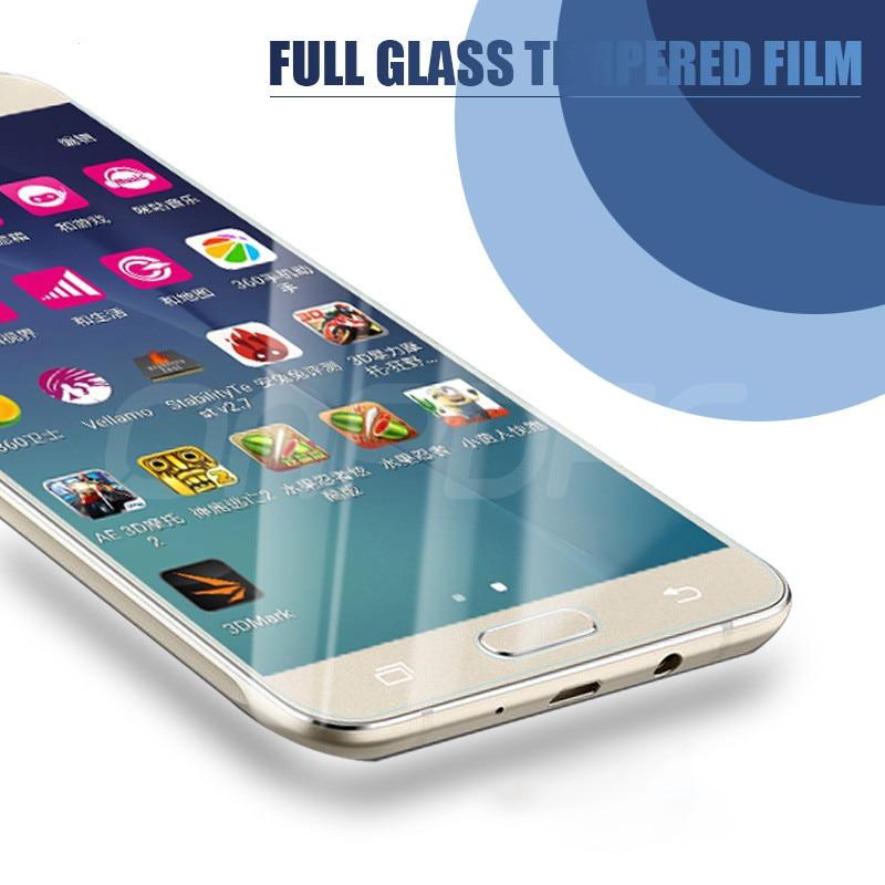 Protective Glass For Samsung Galaxy A6 A8 J4 J6 Plus 2018 Screen Protector Glass Samsung A5 A7 A9 J2 J8 2018 Tempered Glass Film