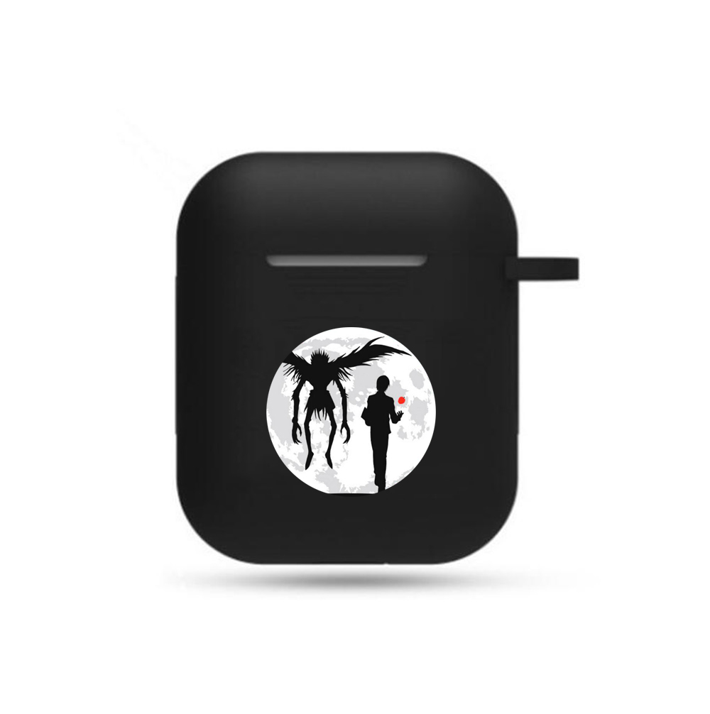 Anime Death Note Earphone Case Cosplay Headphone Case Props Unisex Airpods Bluetooth Headset Protective Cover Earphone Case