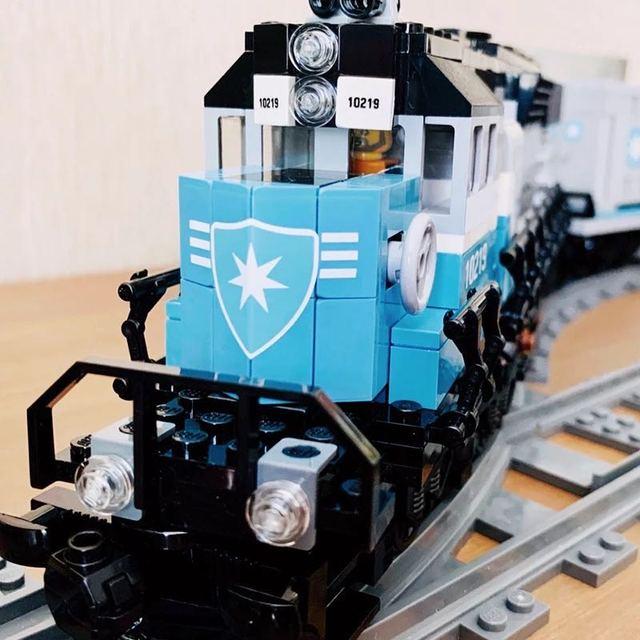 Blocs de construction Expert technique ultime série Maersk Train blocs de construction jouets cadeau enfant garçon anniversaire noël
