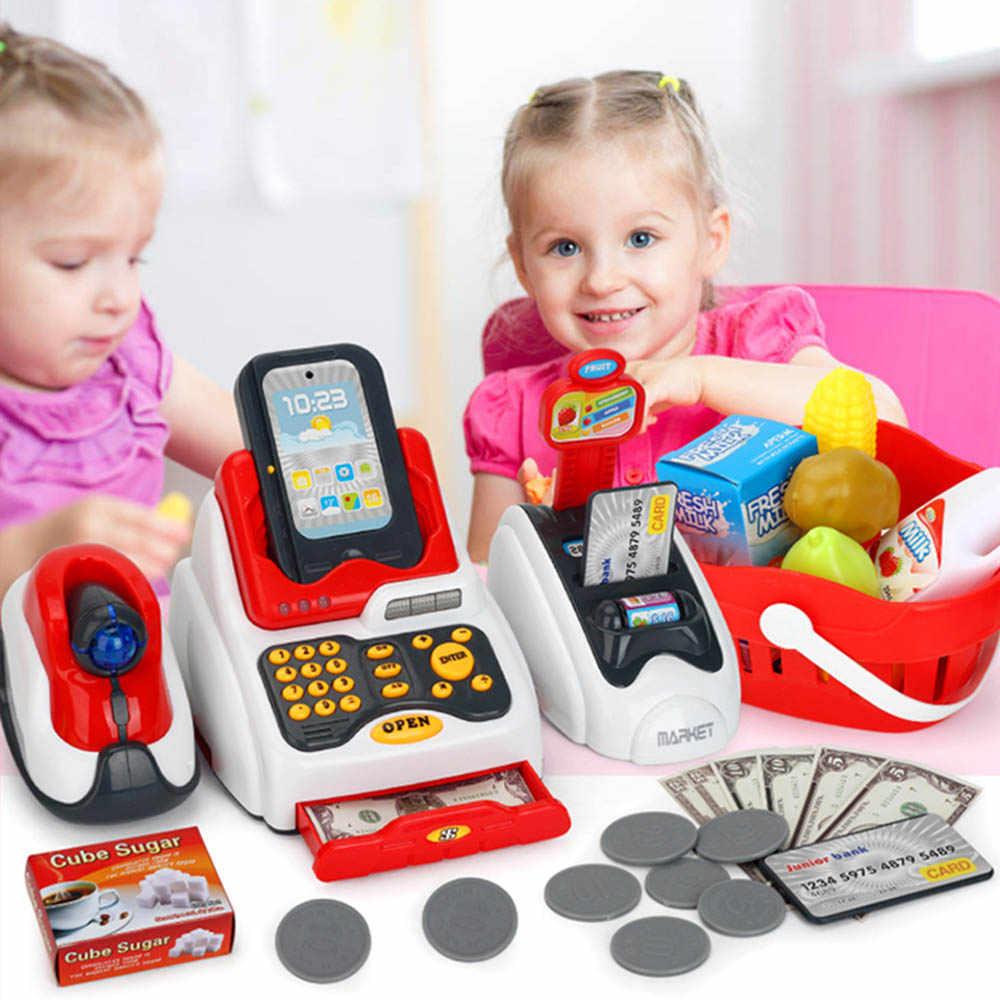 Kinderen multifunctionele Emulational Supermarkt Kassa Kits Pretend & Speelgoed voor Kids Logisch Denkvermogen gift