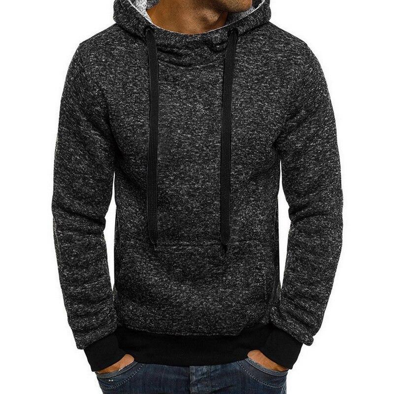 Winter Solid Hoodie 2020 New Men's Casual Tracksuits Mens Hip Hop Coat Pullover Sweatshirt Men Hoodies Autumn Winter Coat