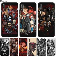 Desxz Silicone TPU Phone Case Movie Horror Icon For Huawei Honor Note 6A 7A 7C 7X 8 9 10 Lite 8X 8C Protection Cover Shell(China)