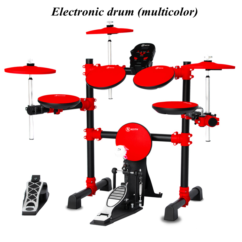 Electronic Drum Set Children Adult Professional Beginners Electronic Drum Set Portable Electric Drum Set Classroom