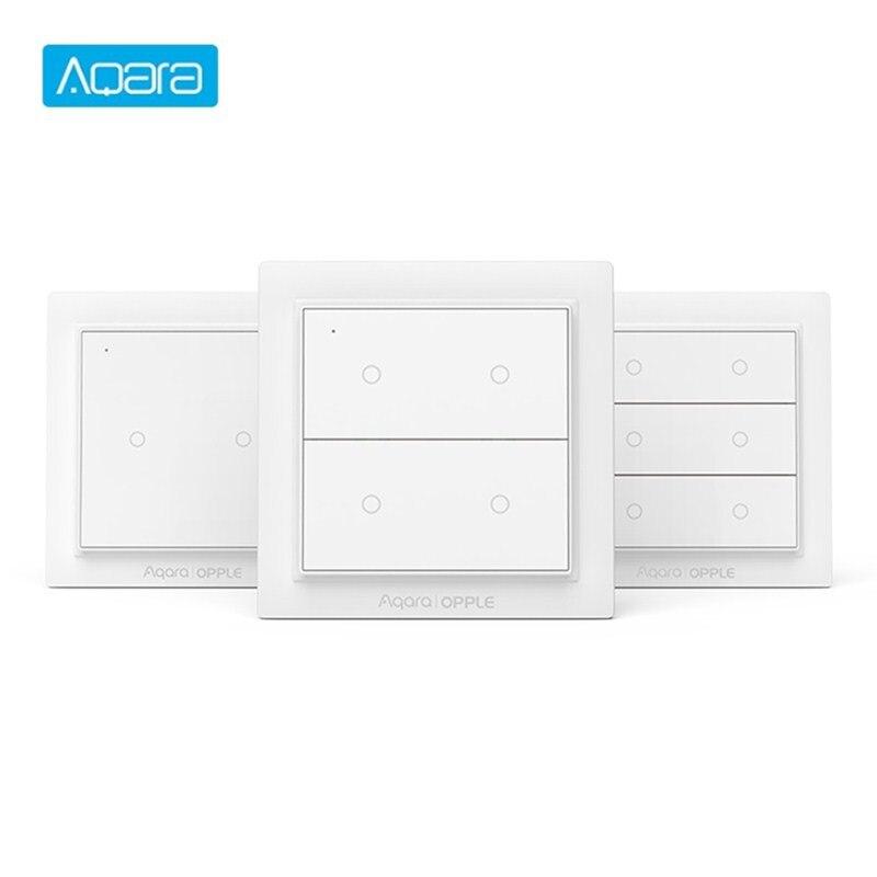 Беспроводной настенный светильник с переключателем для сцены, Aqara, Zignee 3,0, поддержка Apple HomeKit, умный дом, дистанционное управление через