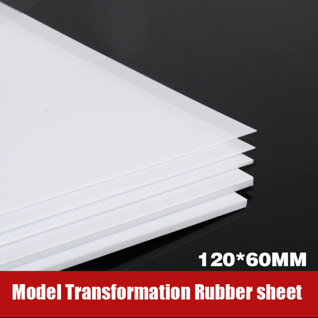 For Model Transformation Tools GK Transformation ABS Rubber Sheet DIY 12*6CM