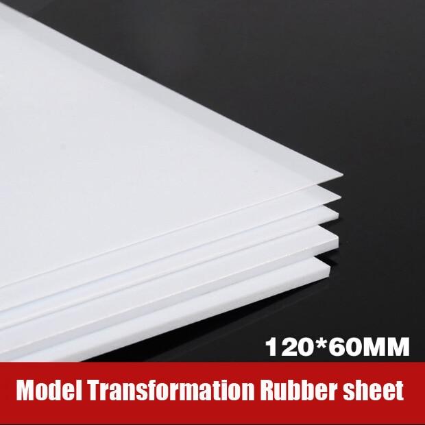 For Model Transformation Tools GK Transformation ABS Rubber Sheet DIY 12*6CM