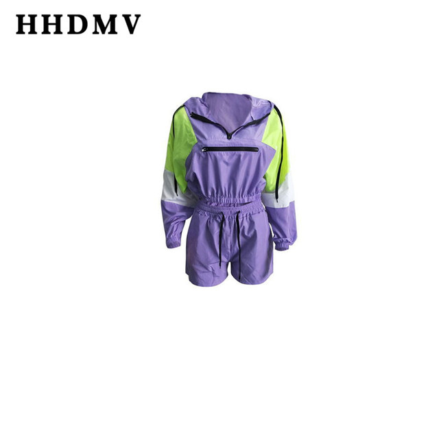 Women long sleeve movement purple two piece set 6