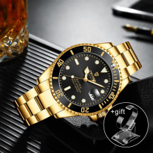 Watch Men'S Luxury Mechanical Watch Steel Belt Waterproof