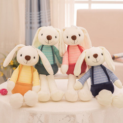 40cm Kawaii Bunny Plush Rabbit Baby Toys Cute Soft Cloth Stuffed Animals Rabbit Home Decor For Children Baby Appease Toys Gifts