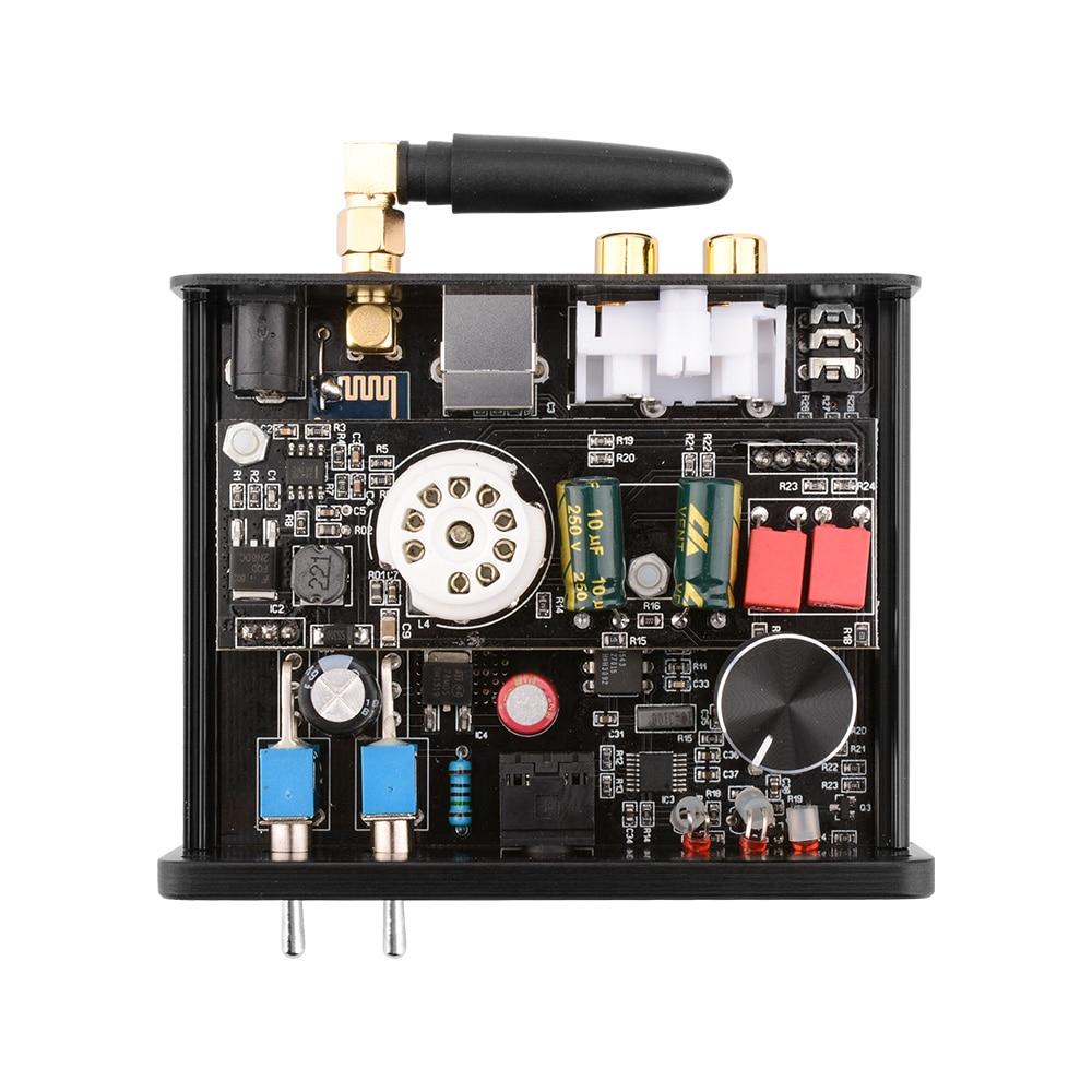 APTX Amplificador Bluetooth 5.0 Hifi USB DAC Audio Mini Amp Headphone Amplifier 6N3 Vacuum Tube Portable Earphone Amplifiers 4