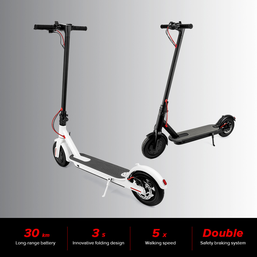 6.0Ah/7.5Ah Folding Electric Scooter for 15-20KM Distance 2