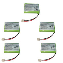 5PCS 교체 용 Ni-MH 배터리 3.6V 800mAh SD-7501 V-Tech 89-1323-00-00 AT & T Lucent 27910 CPH-464D 3.6V 3 * AAA 배터리(China)