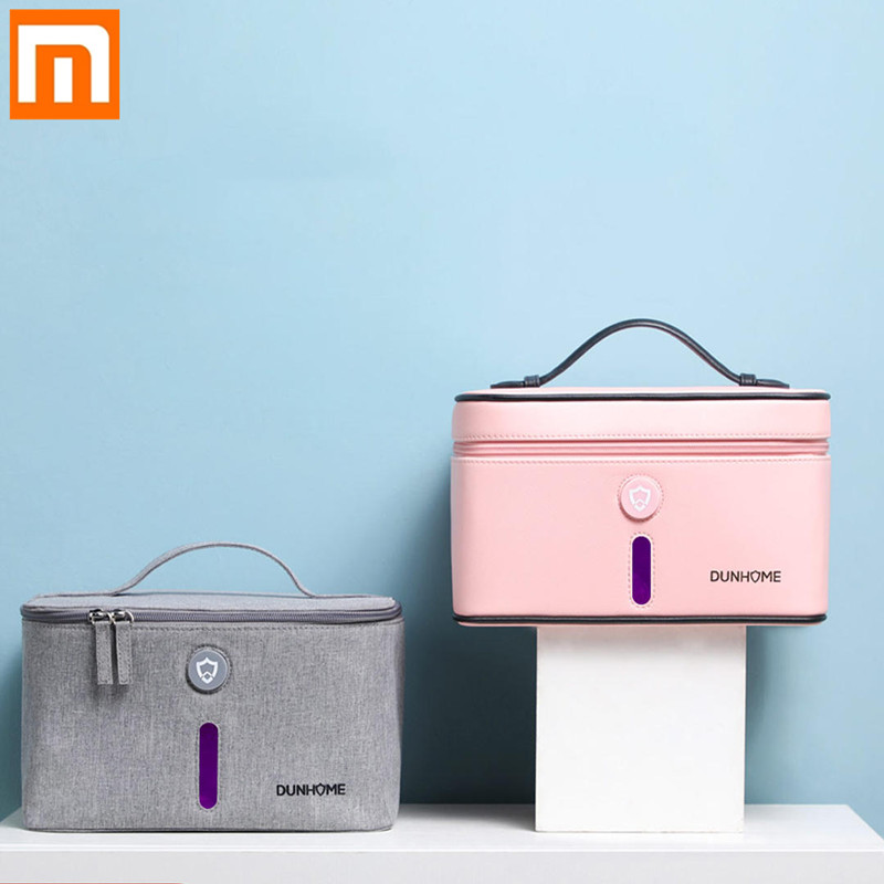 Xiaomi Dunhome 8W Disinfectant Tank LED Ultraviolet Light Anion Sterilizer Box Storage Bag Carry Case Outdoor Travel