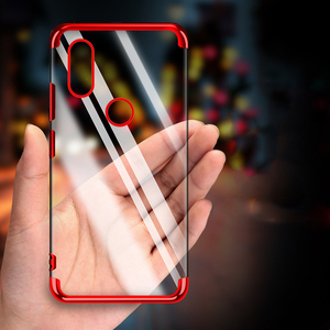 Image 2 - Chapeamento de silicone caso do telefone para redmi note 5 5a 6 pro plus prime y1 y2 s2 6pro 5plus macio claro ultrafino proteger gel volta capa