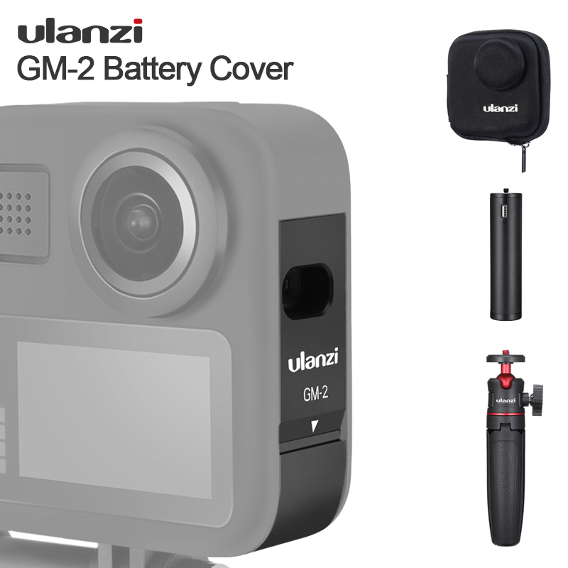 Ulanzi  Gopro Battery Cover for Gopro Max 1 1 Design Battery Cover Case with Charging Port