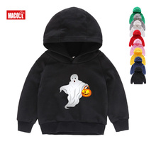 children Hoodies halloween funny costume  Sweatshirts ghost Minne Pumpkin Children Tops Baby Boy Cartoon