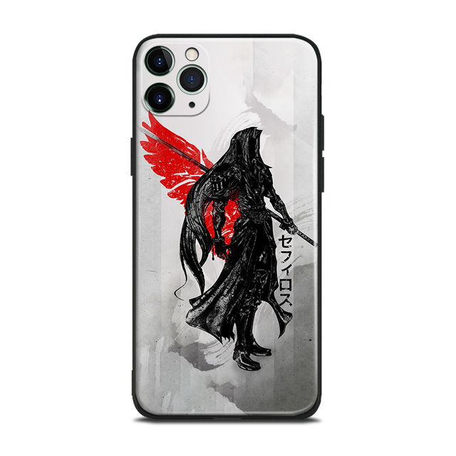 Sephiroth FF7 Final Fantasy For iPhone se 6 6s 7 8 plus x xr xs 11 pro max soft silicone phone case cover shell