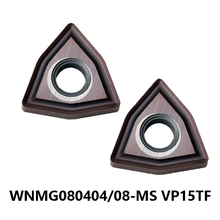 Original MITSUBISHI Carbide Cutting Inserts WNMG080404-MS WNMG080408-MS VP15TF WNMG 080404 080408 Turning Lathe Tools CNC