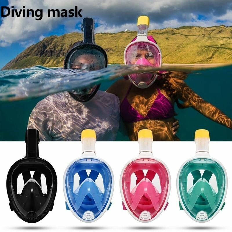 Disciplined Diving Mask Scuba Mask Underwater Anti Fog Full Face Snorkeling Mask Women Men Kids Swimming Snorkel Diving Equipment We Take Customers As Our Gods
