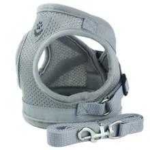 Leash-Set Harnesses Vest Dog-Accessories Puppy-Chest-Strap Dogs-Cat Pug Chihuahua Bulldog