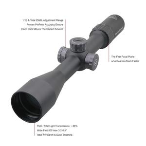 Image 4 - וקטור אופטיקה צלף 6 24x50 FFP טקטי Riflescope 1/10 MIL דקות פוקוס 10yds הראשון מישור מיקוד רובה ציד. 338 Lap