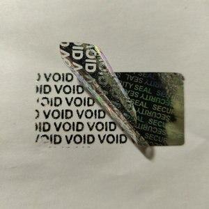 """Image 5 - 1500 Beveiliging Seal Hologram Sabotage Proof Garantie Vervalt Label Sticker 1.57*0.79"""""""