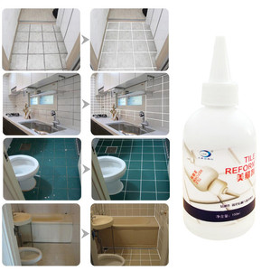 Tile Gap Refill Agent Tile Reform Coating Mold Cleaner Tile Sealer Repair Glue Home Decoration Stickers Hand Tools