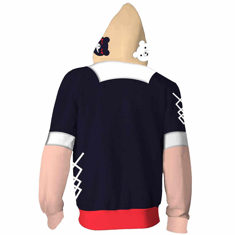 Details about  /Danganronpa Mioda Ibuki Cosplay Hoodie 3D Printed Sweatshirt Adult Pullover