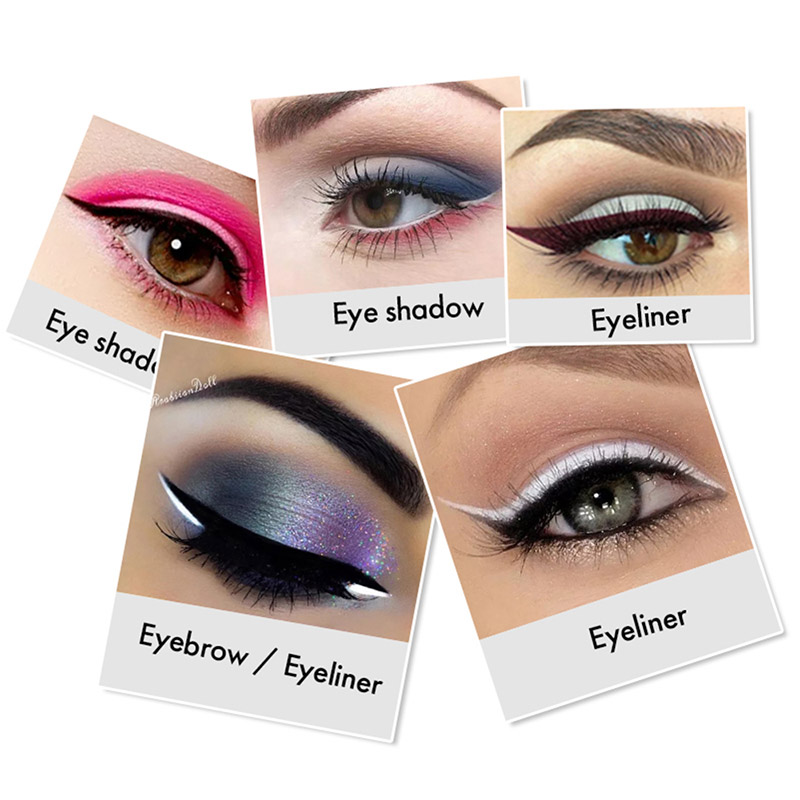 MENOW 12 Pcs/Set Waterproof Eye Pencil Makeup Pen Eyeliner Eye Pencil Waterproof Beauty Pen Eyeliner Eye Liner Pen Cosmetics 4