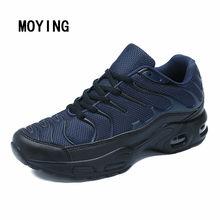 Chaussures de course en maille pour hommes, baskets de sport, de Jogging, d'entraînement en plein air, de Fitness, Design de marque, tailles 39-47, tendance, 2020