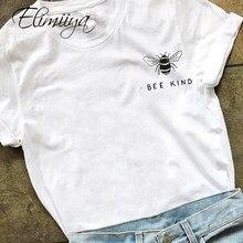 Eliminiiya camiseta feminina, camiseta feminina grande de algodão, estampada para mulheres