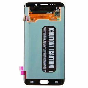 Image 2 - מקורי 5.7 AMOLED LCD עבור סמסונג גלקסי s6 קצה בתוספת G928 G928F מגע מסך Digitizer תצוגת עם קו
