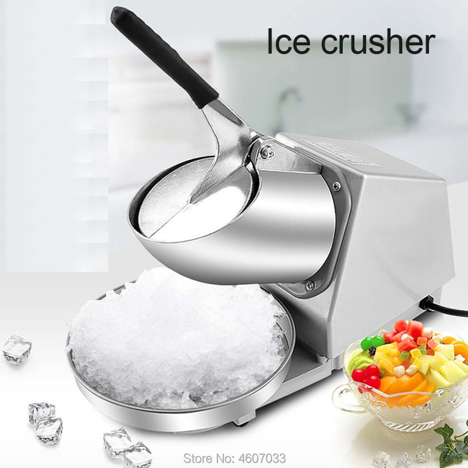 Electric Ice Crusher Smoothie Shaver Slush Ice Block Breaking Grinder Machine