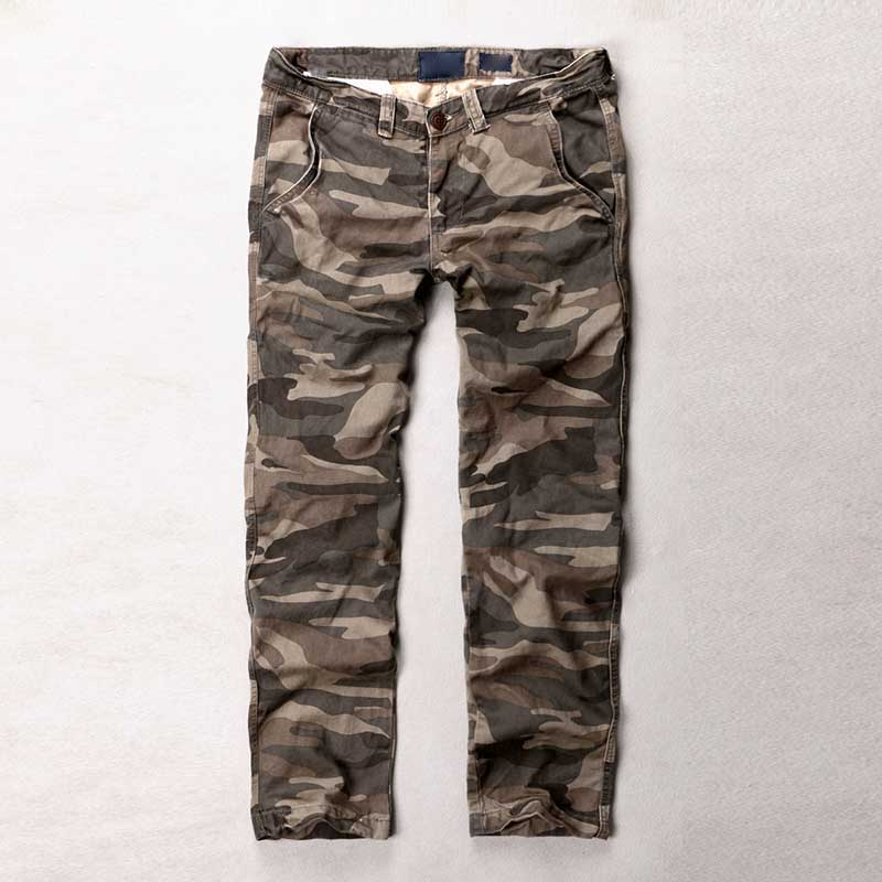 Fashion Camouflage Pants Men Casual Cotton Military Army Style Trousers Trendy Joggers Pants Man Clothes