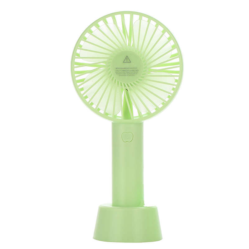 Factory Direct Clip Custom Hand-Held Portable Cartoon Base Fan Mini New Style USB Hand Electric Fan