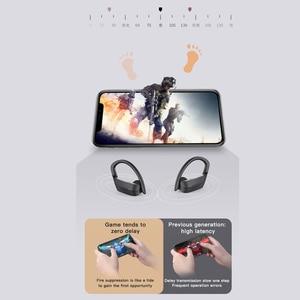 Image 4 - Earhook headphones bluetooth earphones 5.0 Wireless Earphone TWS Earbuds 9D Gaming Sport LED Headset беспроводные наушники