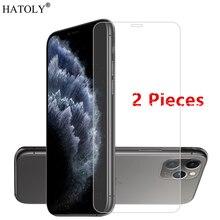 2PCS สำหรับ iPhone SE 2020 แก้วสำหรับ Apple iPhone 11 Pro Max 5 5c SE 6 6s 7 8 Plus X XS Max XR ฟิล์มกระจกนิรภัยป้องกันหน้าจอ