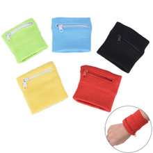 Wrist Wallet Pouch Arm Band Bag For MP3 Key Card Storage Bag Case Wristband Sweatband Women Bag Sport Coin Purses(China)