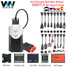 PCB Bluetooth-Scanner Car Diagnostic Auto-Tool Nec-Relays OBD Multidiag Pro 2-Obd2
