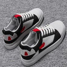 New mens shoes canvas breathable Comfortable lightweight casual models non-slip wear walking