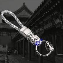 Metal Key Chain Motorcycle Pendant Auto Styling Ring for BMW E46 E90 Infiniti Q50 Cadillac Srx Ford F150 Jeep