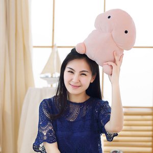 Image 4 - 1pc 20/30/50CM Cute Penis Plush Toys Sexy Pillow Soft Stuffed Soft Funny Cushion Simulation Lovely Dolls Gift for Girlfriend
