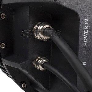 Image 5 - En çok satan su geçirmez LED Par 18x18W RGBWA + UV DMX512 açık IP65 LED DMX sahne aydınlatma etkisi ana Slave Luces Discoteca