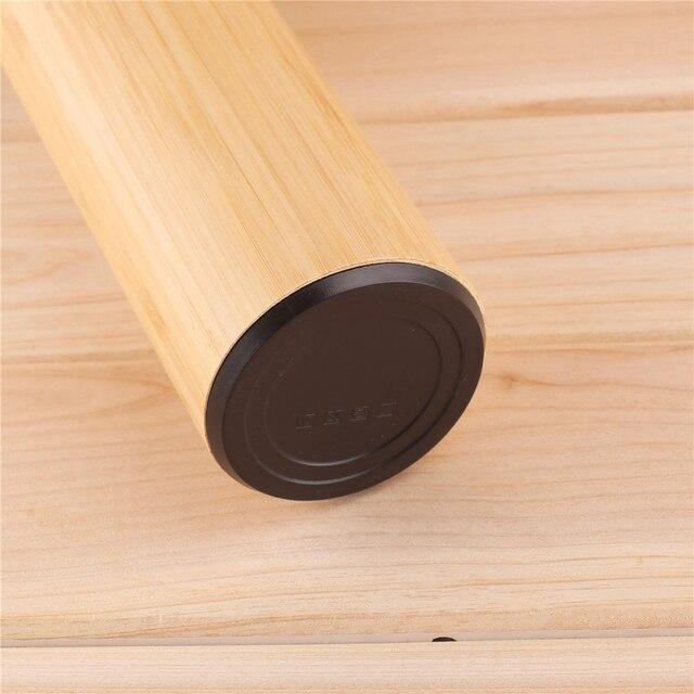 Gourde inox bambou