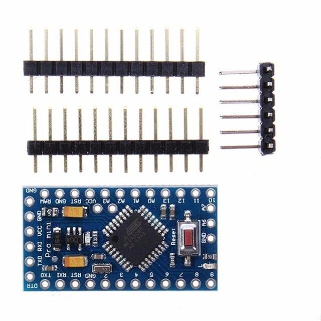 2 個 leory ミニ ATMEGA328 328 1080p 5 v 16 のための arduino 互換プロモジュールボード