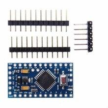 2 pces leory mini atmega328 328p 5 v 16 mhz para arduino compatível pro placa do módulo