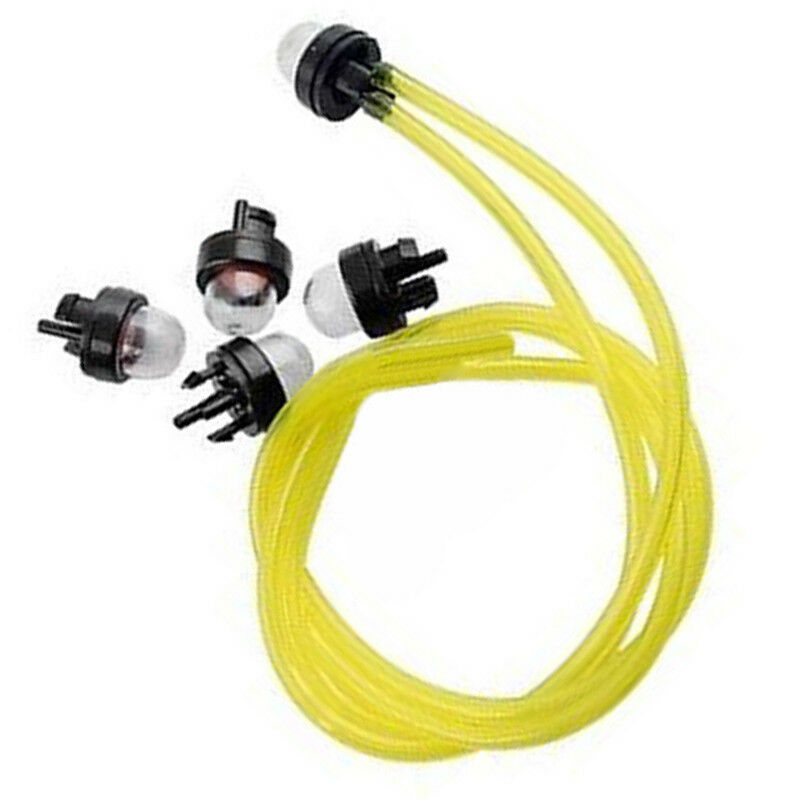 New 5pcs Snap In Primer Bulbs & Pump Fuel Line For RYOBI 683974 STIHL ECHO Poulan String Trimmer Accessories