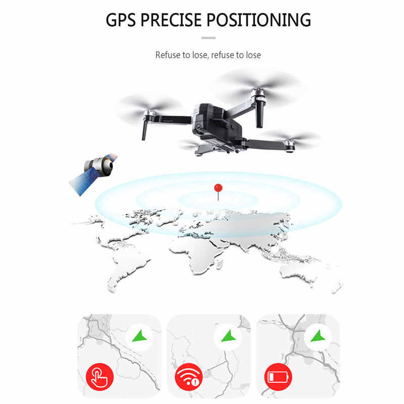 SJRC F11 プロ GPS 5 3g Wifi 500m FPV 2 18K 広角カメラで 28 分の飛行時間ブラシレス折りたたみ RC ドローン Quadcopter RTF